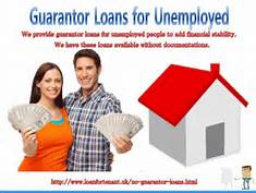 35-Are No Guarantor Loans Relevant for the Unemployed