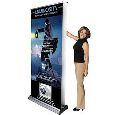 35-Banner Stand with Changeable Graphic